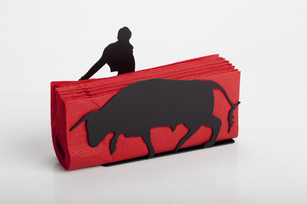 Red Napkin Holder