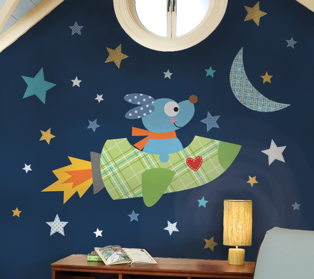 RMK2001GM_Rocketdog Giant Wall Decals_Roomset