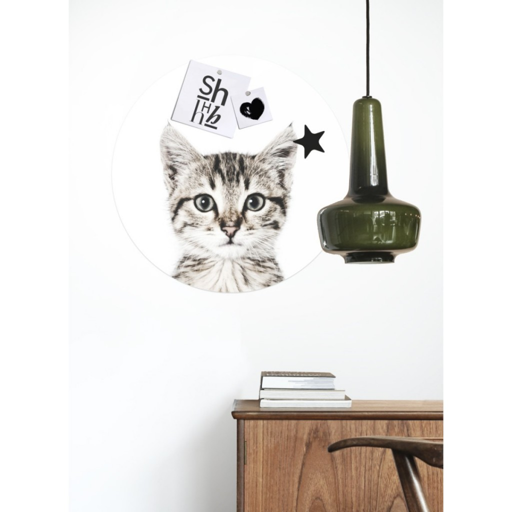 sticker aimantée - chat